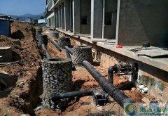 pe给水管被广泛用于新农村建设的地下管网管材